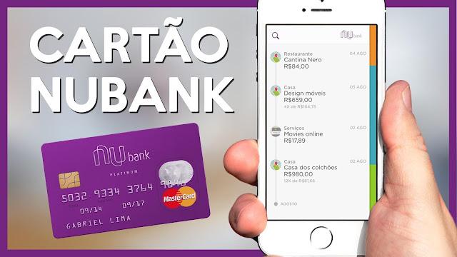 Cartão de Crédito Nubank (Imagem: Reprodução/Notícias Hoje)
