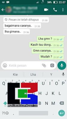 Tutorial Terbaru Hapus Pesan WhatsApp (WA) Meski Sudah Terlewat 7 Menit 3