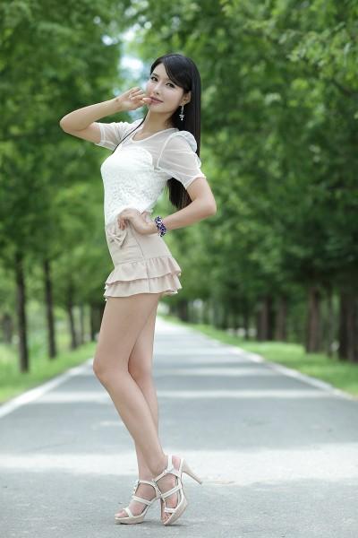 Cha Sun Hwa Ruffle Mini Dress Zinglovefashion