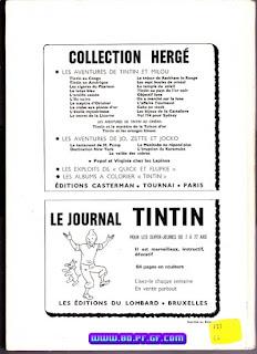 Recueil Tintin, édition Belge, numéro 111, 1972