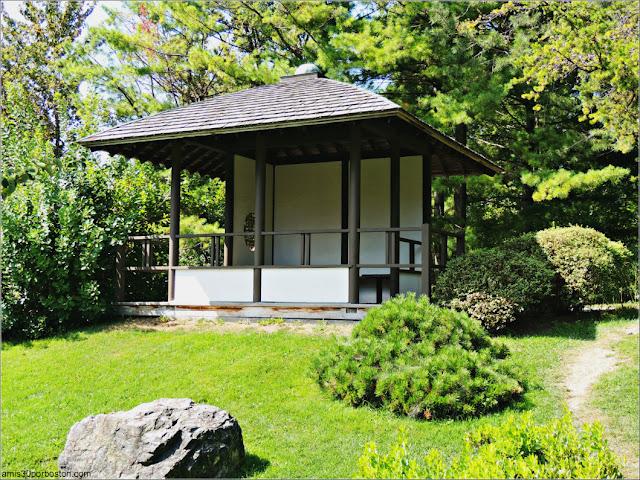 Jardín Japonés del Jardín Botánico de Montreal: Puesto de Observación
