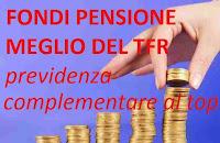Previdenza complementare: i fondi pensione battono la rivalutazione del Tfr