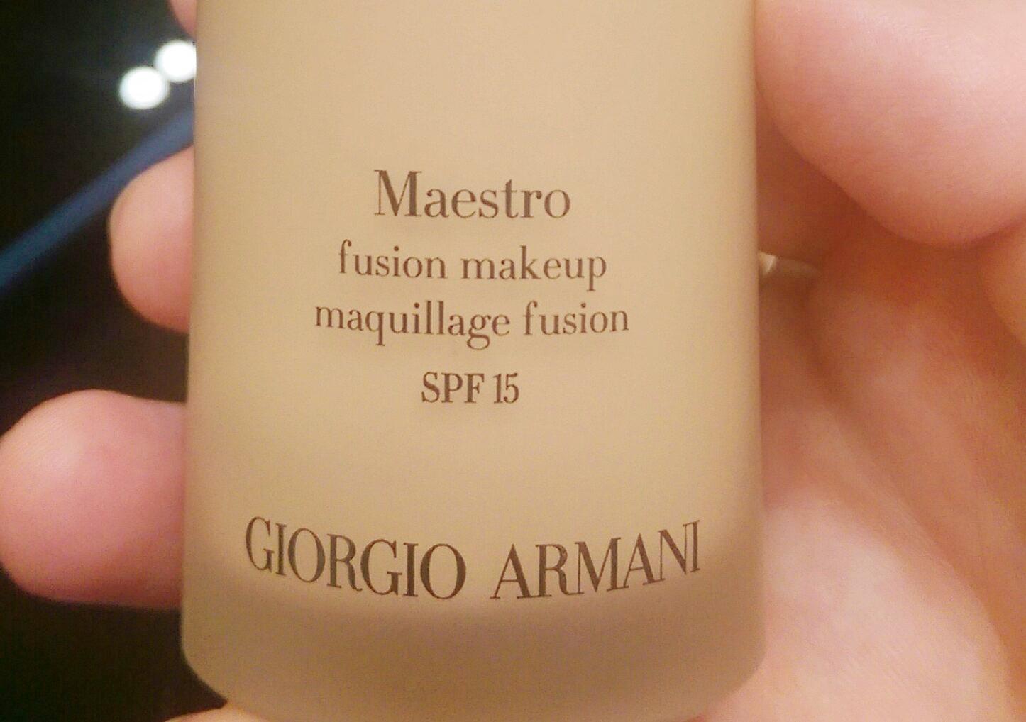 Giorgio Armani Maestro Fusion Foundation
