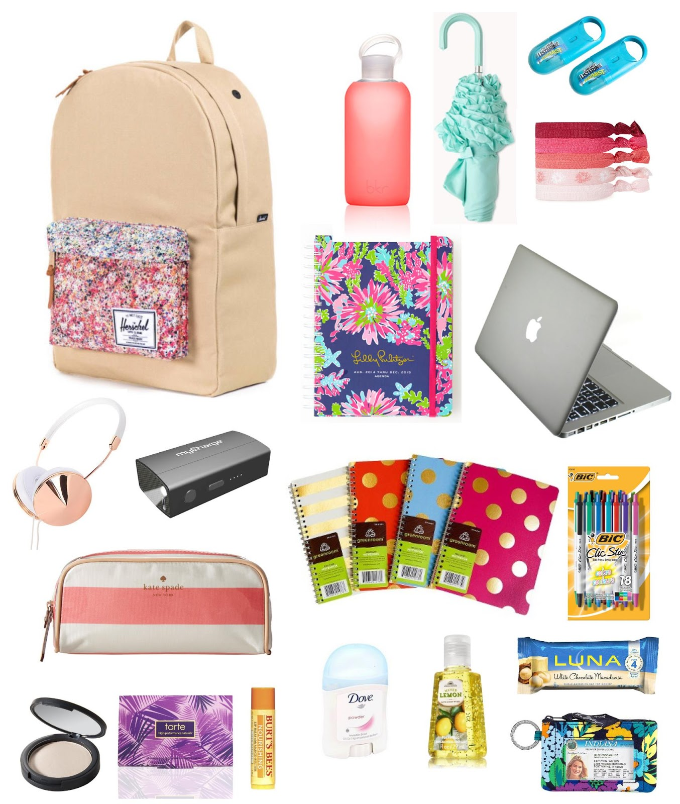 4e2a512120 College Life  Backpack Essentials   sprinkle of style