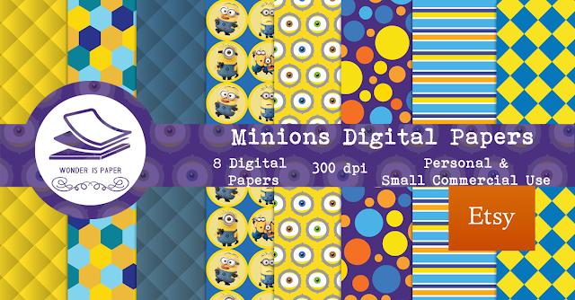 Papeles Digitales MINIONS + Noticias