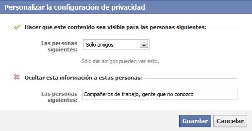 Guías para Clickear: Cómo ocultar mis imágenes de Facebook