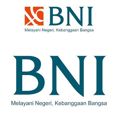 Logo Bank BNI Format CDR