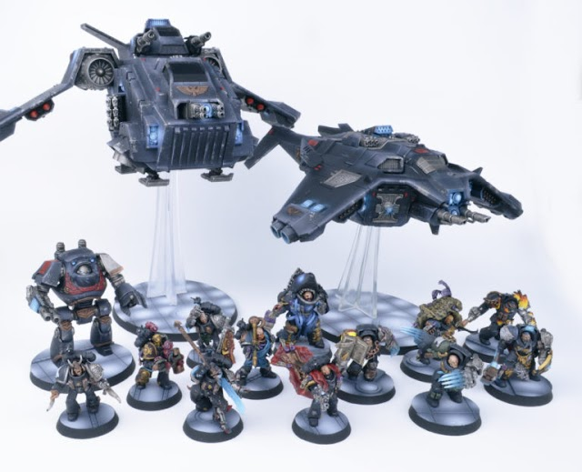 Win this Deathwatch Army in the Summer 2018 Summer Raffles