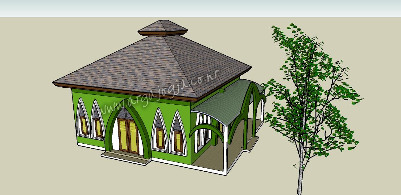 desain masjid by argajogja 2