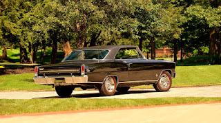 1967 Chevrolet Nova SS Rear