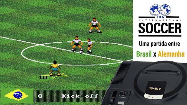 ... do FIFA para Mega Drive