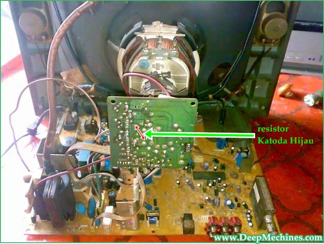 Perbaikan Kerusakan Tidak ada Gambar Siaran pada TV Goldtech 14-Inch