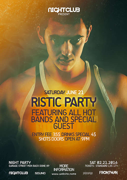 How To Create a Futuristic Party Flyer In Photoshop
