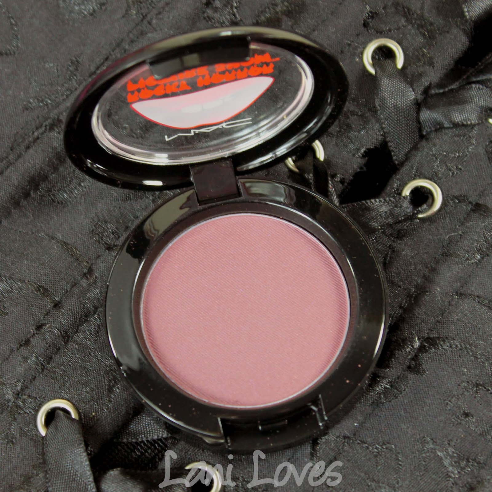 MAC X Rocky Horror Picture Show: Crazed Imagination Blush Swatches & Review
