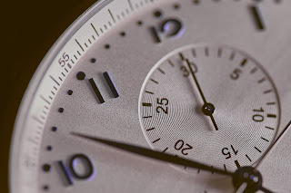 It takes time to mature - closeup of a clock
