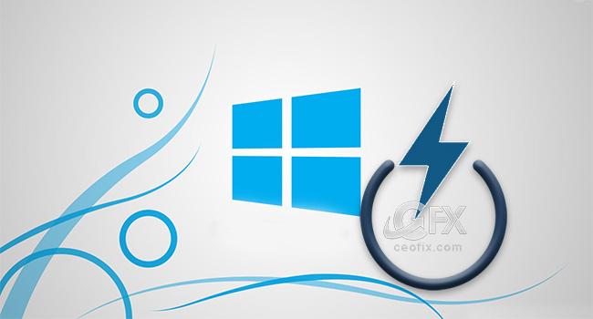 Windows 10'da Hızlı Başlatı Kapat-www.ceofix.com