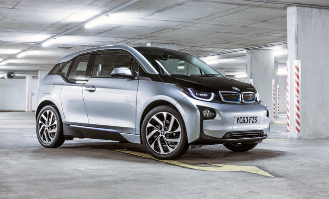 BMW i3 front side view