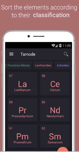 Periodic table tamode pro v101 apk free download revdl table of elements urtaz Gallery