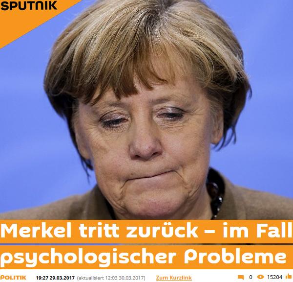 Merkel Rücktritt September