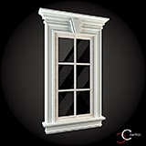 ornamente casa pentru exterior din polistiren, modele personalizate pentru ferestre