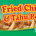 Contoh Desain Spanduk Fried Chicken Tahu Pocong