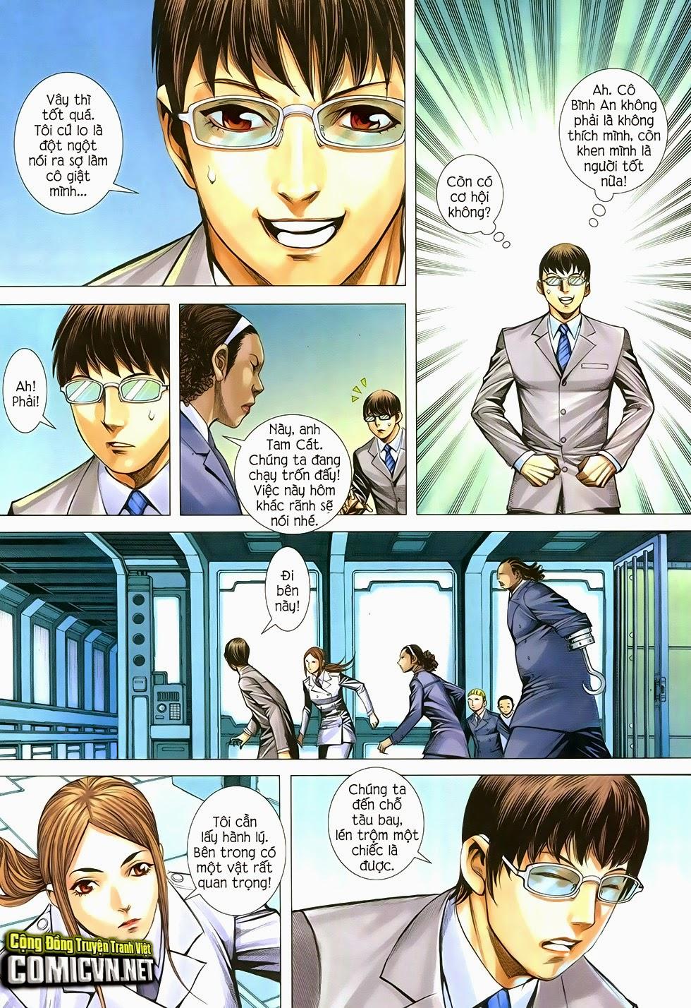 Đại Quân Phiệt chap 29 trang 6