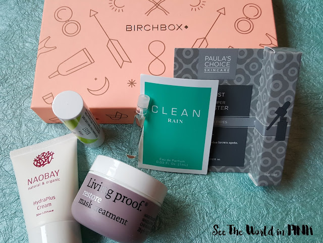 February 2016 - Birchbox Canada Review and Unboxing