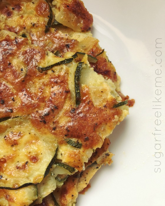 Easy Low Carb Zucchini Quiche