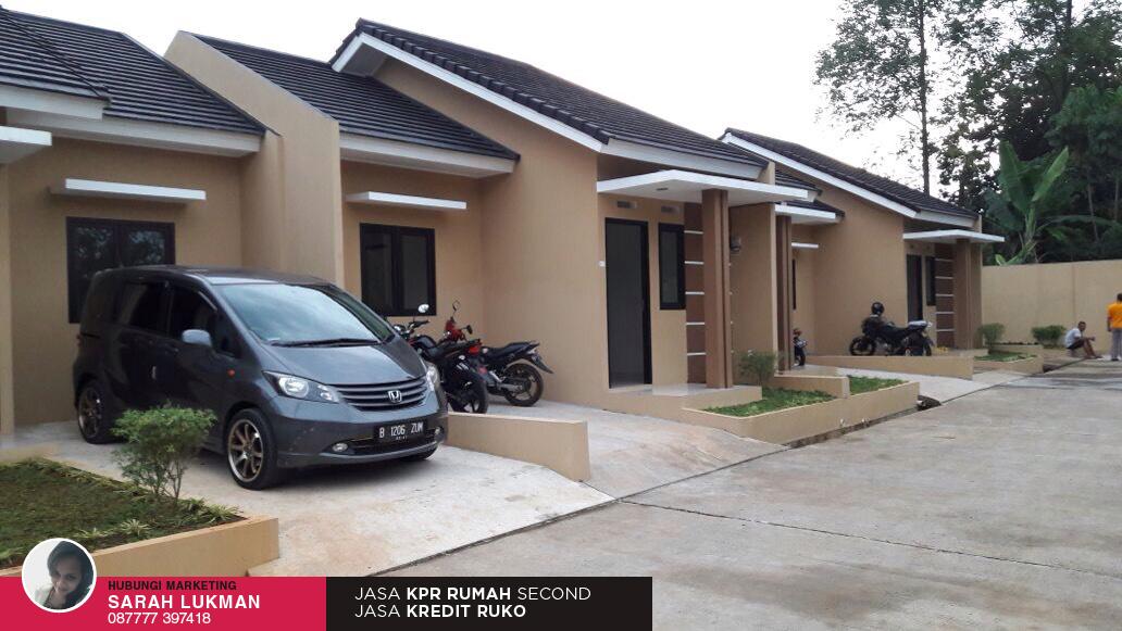 jalan perumahan  Asri Residence Pamulang Tangsel