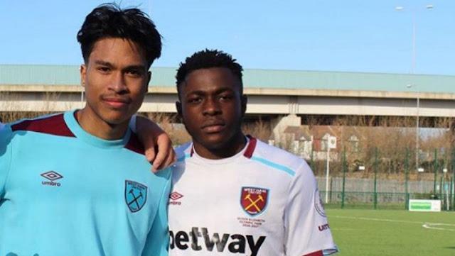 Hebat ! Pemain Muda Indonesia Gabung West Ham United