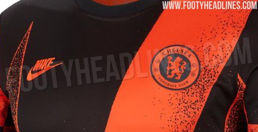 60ff29bbb Chelsea 19-20 International Pre-Match Shirt Leaked