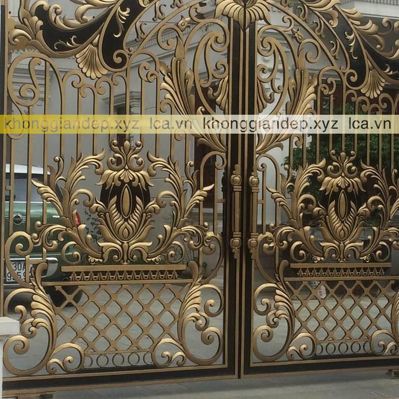 Mẫu cổng nhôm đúc LCA - 0007