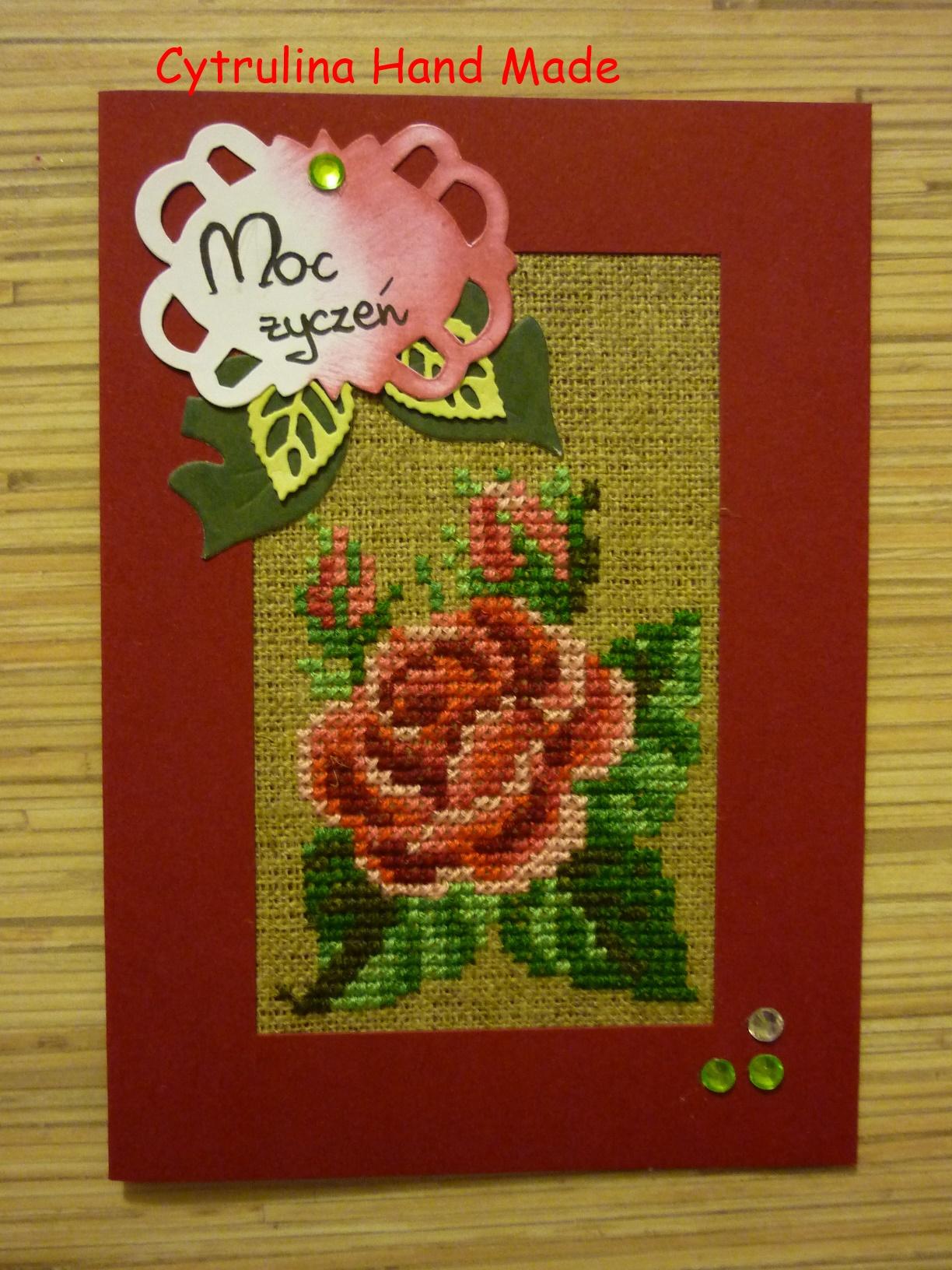 P1130648 - Kwiatowe karteczki - tulipany iróże