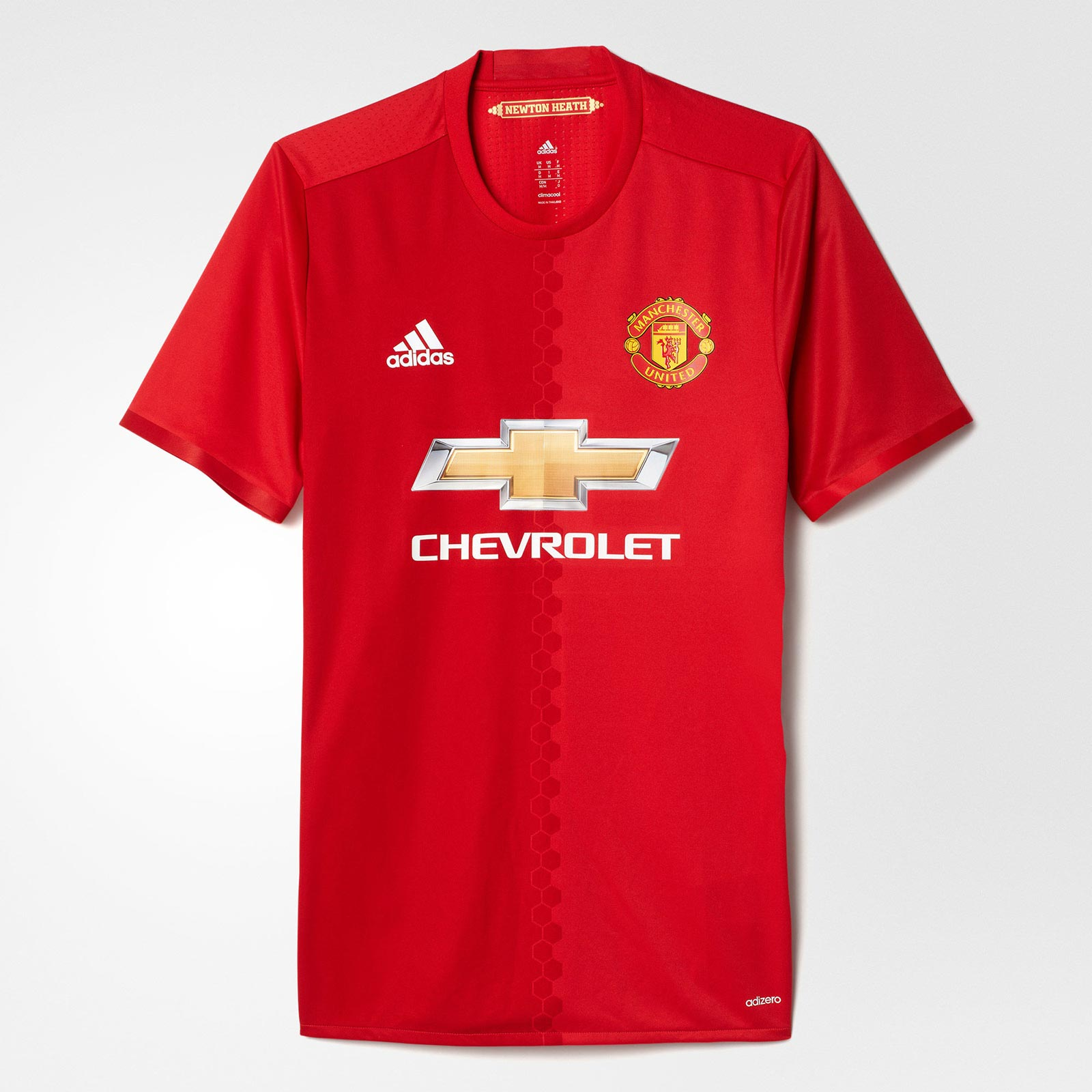 815b2629d7c Manchester United 17-18 Home Kit Released - Footy Headlines