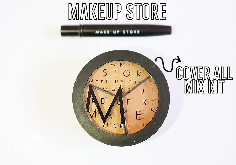 Berukuran 18gr dengan packaging berwarna hitam dan terdapat logo M simbol Makeup  Store membuat concealer ini tampak lebih praktis dan modern. b8ff7833792e2