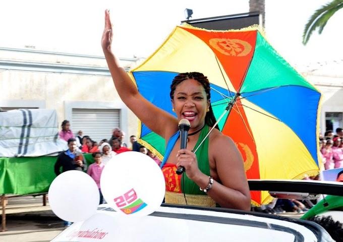 Photos/Video: Tiffany Haddish is officially an Eritrean citizen