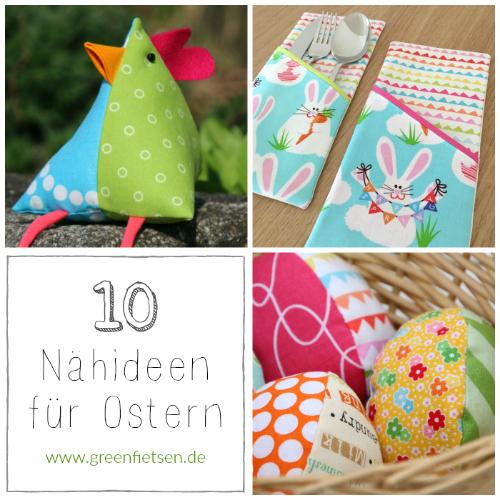 10 Nähideen für Ostern von greenfietsen