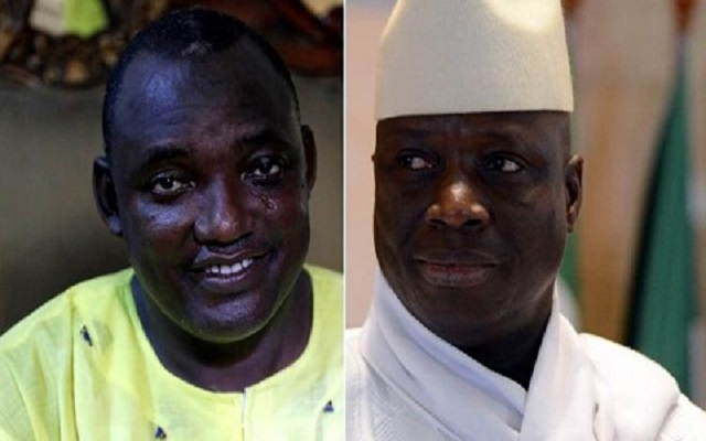 Gambia leader Yahya Jammeh rejects election result
