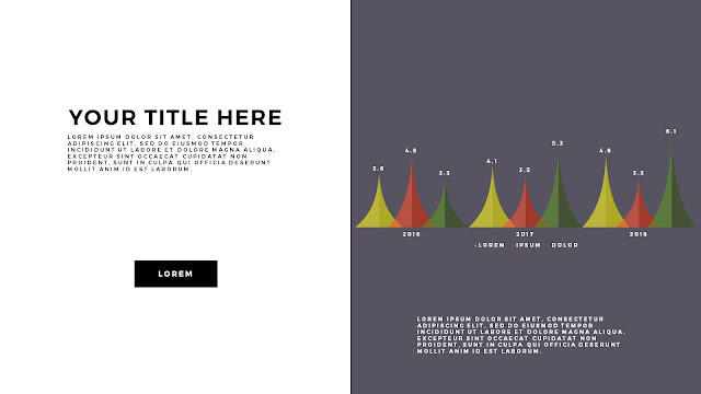Free Infographic PowerPoint Template with Editable Data chart Slide 5