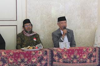 Diskusi Persiapan Pasamuan Agung Mursyid Thoriqoh Syathoriyah