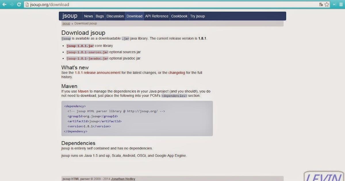 Java程式教學甘仔店: Jsoup Parser HTML Examples