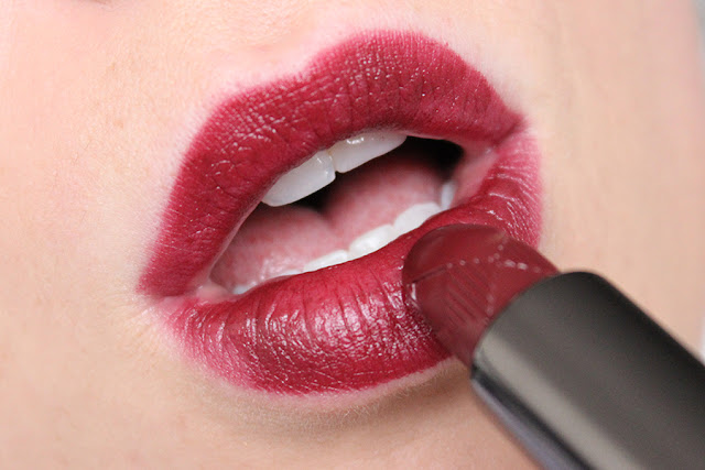 Burberry Lip Velvet in 'Oxblood' With Swatches