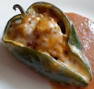 beef enchilada stuffed peppers