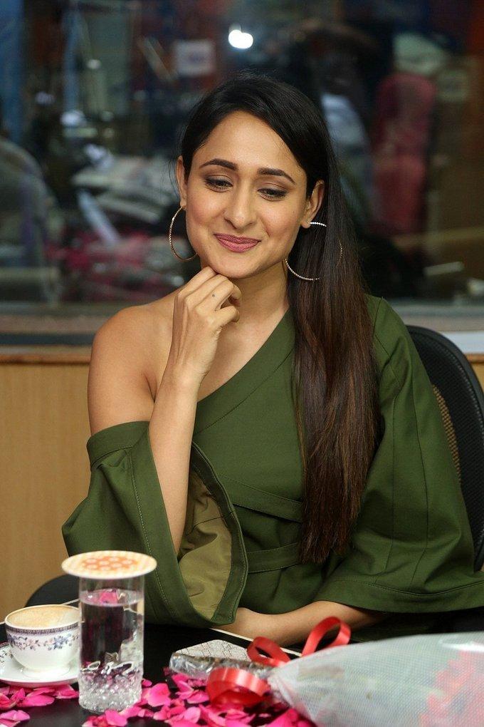 Pragya Jaiswal Promotion of Jaya Janaki Nayaka Movie at Radio City Photos