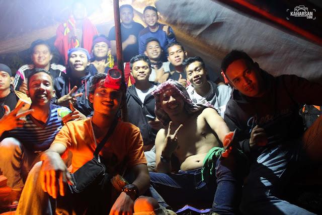 Malam Puncak Mentajam Bukit Bongku Kec Nanga Mahap Kab Sekadau - kaharsan