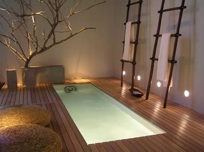 bañera piscina