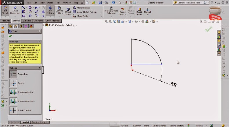 How to make 3D Poke Ball (3parts & assembly) in SolidWorks