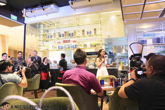 Launching of Pizza Express in Uptown Mall, BGC