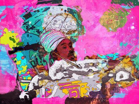 Art Paintings Ubud Village