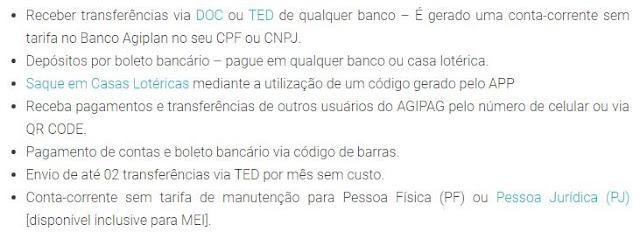 Vantagens Agibank - Conta PJ